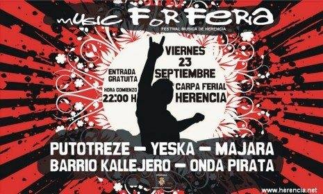 Music for Feria. Festival de Música de Herencia 1