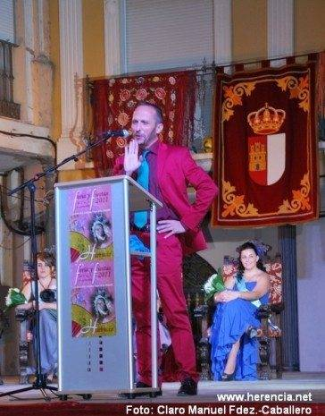 Rafael Garrigós releerá su pregón el día grande de la Feria de Herencia 1