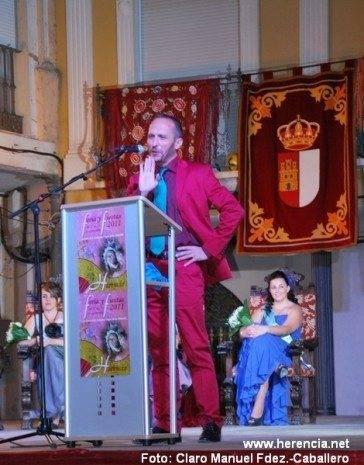 Rafael Garrigós pregonero de Herencia