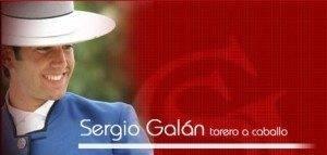 Sergio Galán Torero a caballo