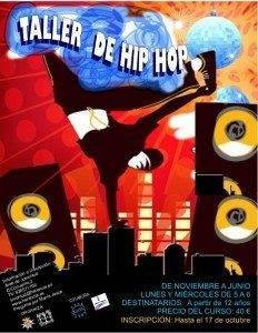 Abierto el plazo de inscripción para el Cruso de Hip Hop Joven 1