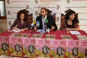 pesentacion feria Herencia aa 300x200 - Rafael Garrigós será el pregonero de las Ferias y Fiestas 2011