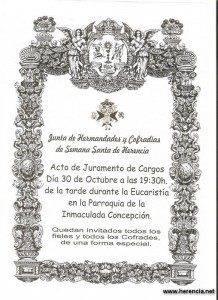 La nueva Junta de Hermandades de Semana Santa de Herencia jurará sus cargos 1