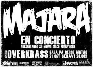 cartel majara INTERNET 300x215 - Majara continúa de ruta con su gira nacional