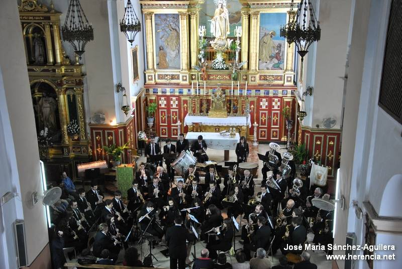 Agrupación Musical Santa Cecilia de Herencia1 - Actuaciones de Semana Santa de la Agrupación Musical Santa Cecilia