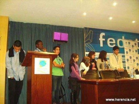 Herencia participantes Congreso 465x348 - Jóvenes de Herencia en un Congreso sobre la eliminación del trabajo Infantil
