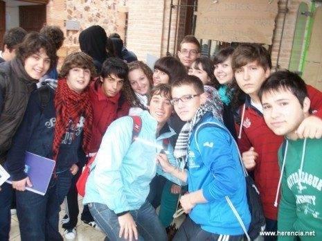 Huelga de educación en Herencia - 3 de noviembre de 2011 (1)