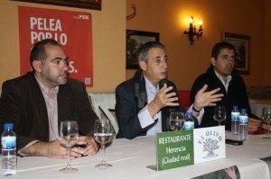 Jesús Martín mantuvo un encuentro con los empresarios de Herencia 1