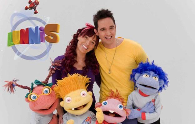 Juan D y Beatriz con los Lunnis - Juan D y Beatriz viajan en 'El cohete musical' para acompañar a los Lunnis