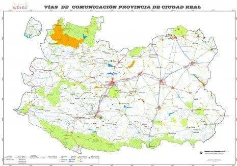 La Diputación edita un mapa provincial de carreteras 1