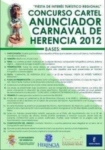 El Carnaval de Herencia busca cartel anunciador para el 2012 1