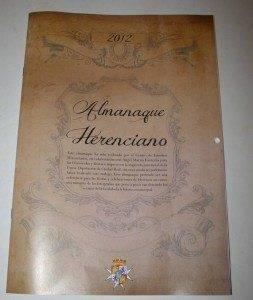 herencia almanaque herenciano 253x300 - Actos conmemorativos para celebrar el día de la Constitución en Herencia