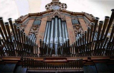 Imagen de la futura reconstrucción Órgano Parroquial de Herencia