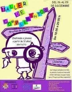 2011 Herencia TAller Complementos 2011 nov dic 233x300 - Los jóvenes de Herencia aprenderan a realizar juguetes y complementos solidarios