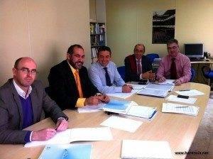 Herencia Femp reunion 300x224 - Reunión del alcalde de Herencia con el presidente de la FEMP de Castilla-La Mancha