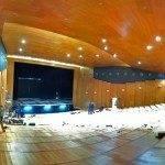 Interior de teatro auditorio de Herencia