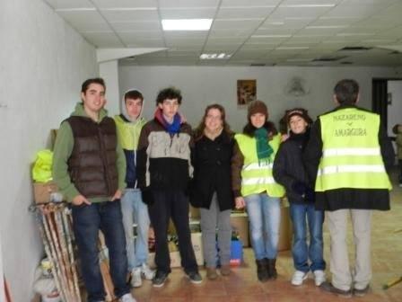 OPERACION KILO 011 - Los Jóvenes Moraos recogieron más de 500 kilos de alimentos con destino a Cáritas