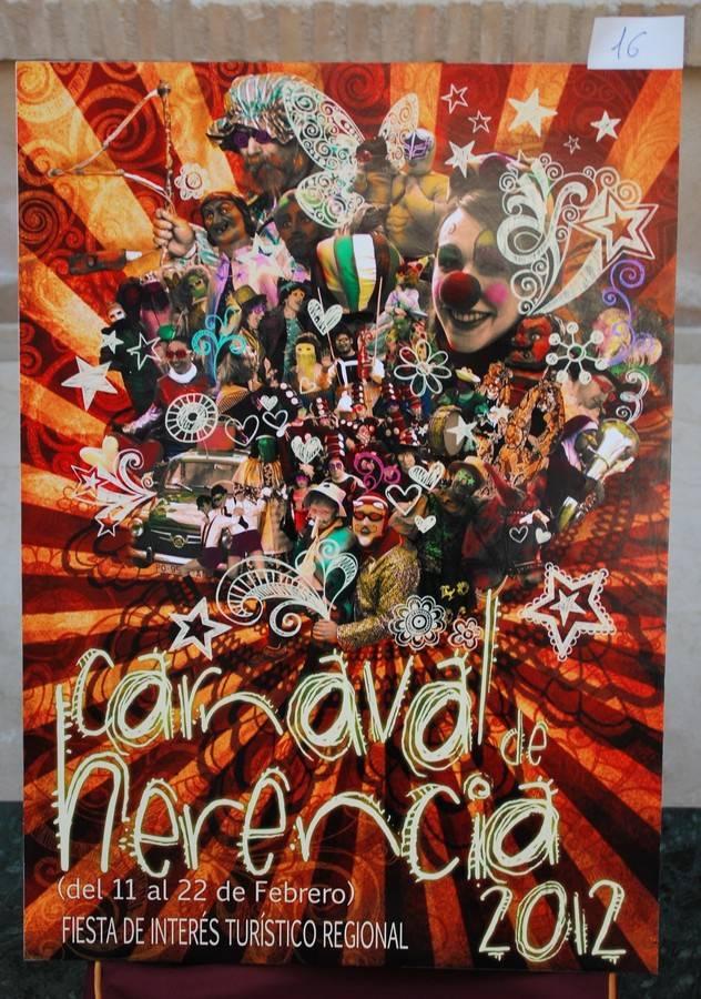 Cartel del Carnaval de Herencia 2012 (Ciudad Real)