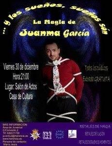 herencia cartel espectaculo de magia1 231x300 - Juanma García presentará su espectáculo de magia en Herencia