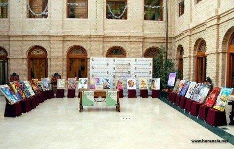 herencia expo de carteles carnaval bb 465x297 - Abierta la exposición y votación popular de carteles para el Carnaval de Herencia 2012