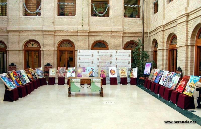 herencia expo de carteles carnaval bb - Votación Popular del Cartel del Carnaval de Herencia 2012