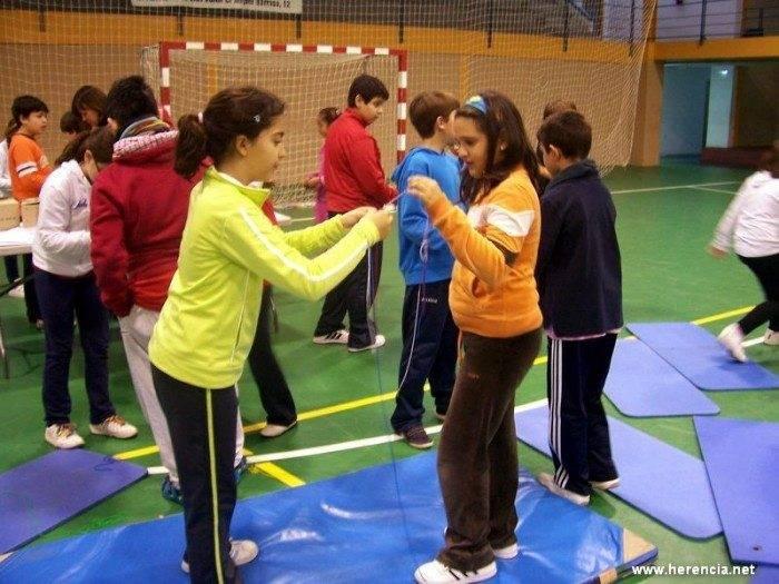 Herencia. Juegos con los centros escolares. Programa Pris