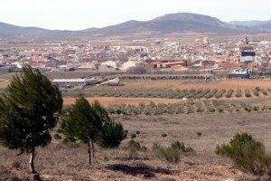 Vista general de Herencia - Ciudad Real