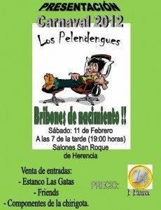 Actuaci%C3%B3n presentaci%C3%B3n Pelendengues 2012 230x300 - La presentación de Los Pelendengues se hará en el San Roque por falta de aforo