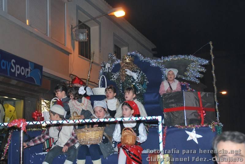 Cabalgatas de Reyes Magos 2012 27 - Una vistosa Cabalgata de Reyes llenó de ilusión las calles de Herencia
