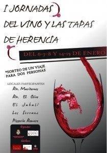 I Jornadas de Vinos y Tapas de Herencia 210x300 - Primeras Jornadas de Vinos y Tapas de Herencia