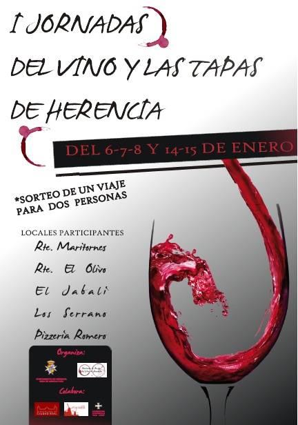 I Jornadas de Vinos y Tapas de Herencia