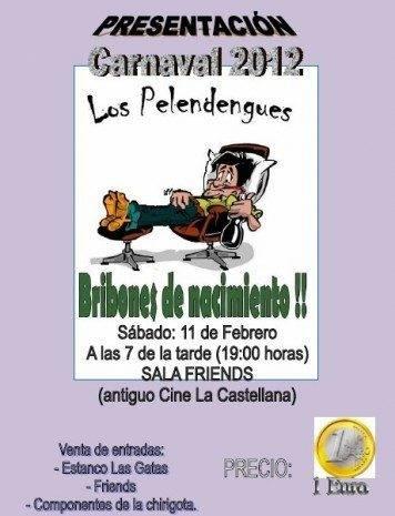 Los Pelendengues 2012 356x465 - Presentación de Los Pelendengues 2012