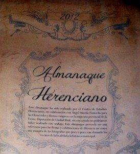 almanaque herenciano 2012
