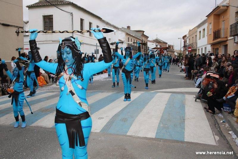 carnaval herencia Peña Aonsou - El Carnaval de Herencia estará en FITUR 2012 y será motivo de un pleno municipal extraordinario