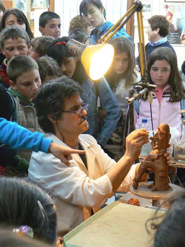 excursion a la Alfarería Gregorio Peño