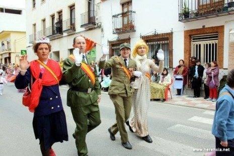 Herencia, Defile de Carnaval. Durante el Ofertorio
