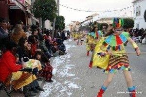Desfile del Ofertorio. Carnaval de Herencia