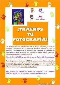 CentroMujer Cartel fotograf%C3%ADas 212x300 - Colabora en la exposición homenaje del Día Internacional de la Mujer