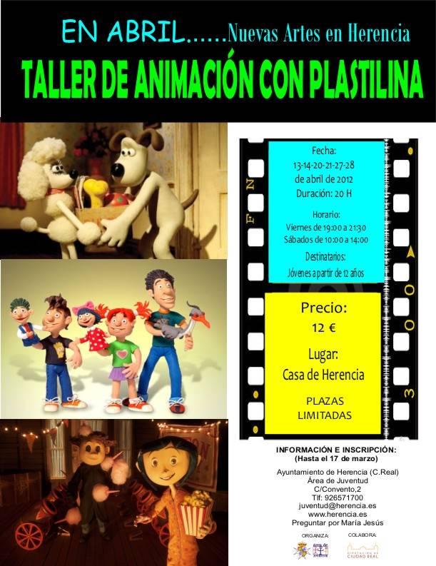 Curso de animación con plastilina