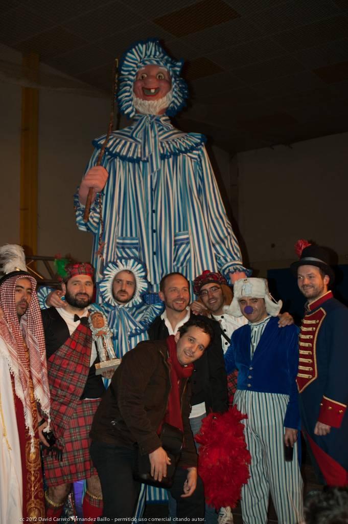 Fotografías de la inauguración del Carnaval de Herencia 2012 1