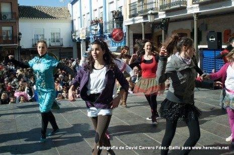 Flashmob Carnaval de Herencia 2012