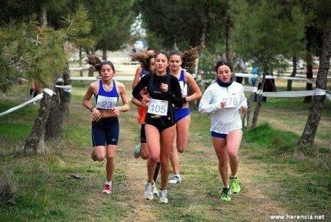 Herencia autonomico femenino campo a traves 465x311 - Valdepeñas Athletics Club se proclamó campeón de Campo a Través en Herencia