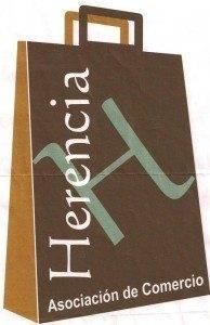 Logo comercio 194x300 - La asociación del Comercio de Herencia preprara su campaña de navidad