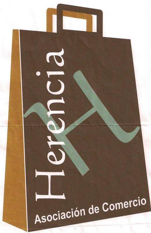 Logo comercio - Lourdes Villafranca gana el concurso para decorar la IV Feria del Comercio de Herencia