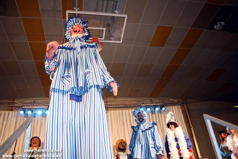 Perlé Gigante Asociación Barco de Colegas y Carnaval de Herencia Denominación de Origen