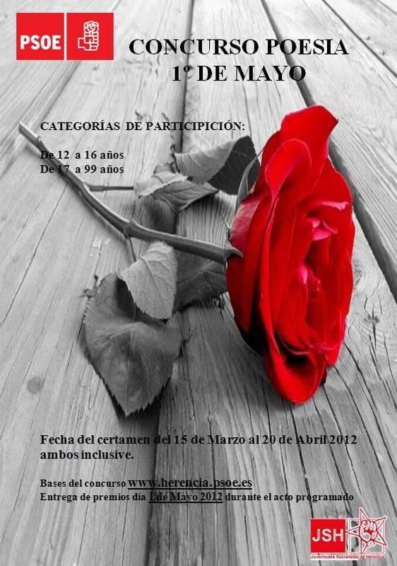 Concurso de Poesía 1º de Mayor - Concurso de Poesía Primero de Mayo de Herencia