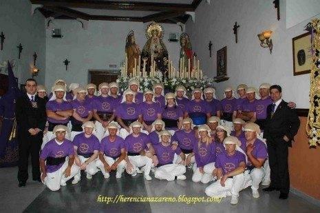 Cuadrilla de costaletos Jesús Nazareno 2011