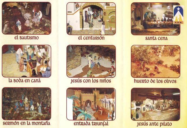 Exposición de miniaturas de la vida de Jesús