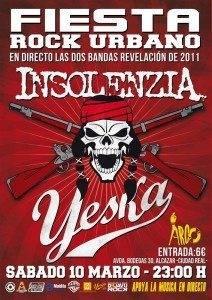 Fiesta Rock Urbano en Alcazar de San Juan con Yeska