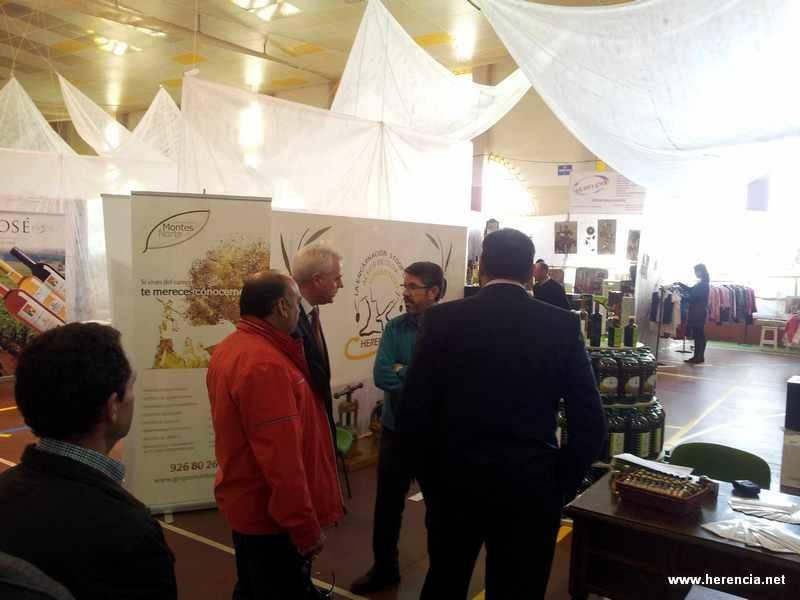 Herencia - Inaugurada la Primera Feria del Estocaje y las Oportunidades de Herencia